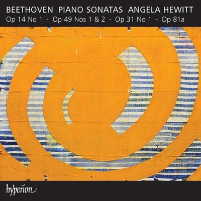 ピアノ・ソナタ第26番『告別』、第20番、第19番、第16番、第9番 ヒューイット