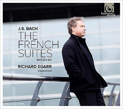 フランス組曲全曲、フランス組曲第2番より異稿 リチャード・エガー(チェンバロ)(2CD)