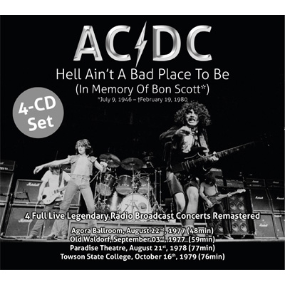 Hell Ain't A Bad Place To Be (4CD)