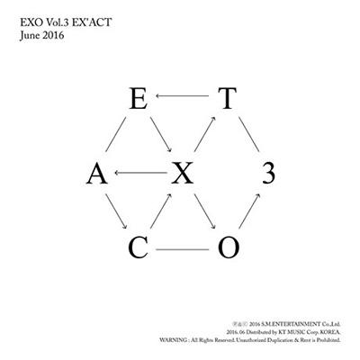3集: Ex'act 【Korean Ver./ 韓国語】 (ランダムカバーバージョン)