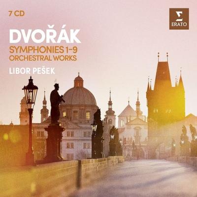 交響曲全集、管弦楽曲集 リボル・ペシェク&ロイヤル・リヴァプール・フィル、チェコ・フィル(7CD)