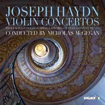 Violin Concertos: Kallo(Vn)Mcgegan / Capella Savaria