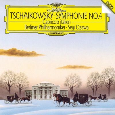 交響曲第4番、イタリア奇想曲 小澤征爾&ベルリン・フィル