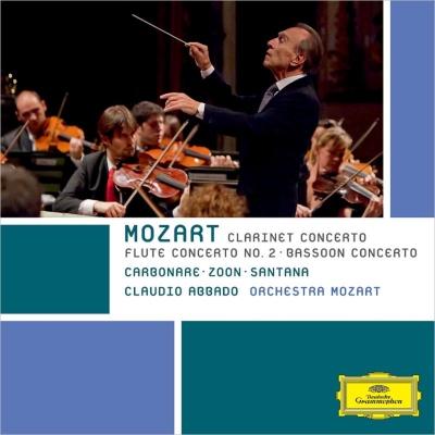 クラリネット協奏曲、フルート協奏曲第2番、ファゴット協奏曲 クラウディオ・アバド&モーツァルト管弦楽団