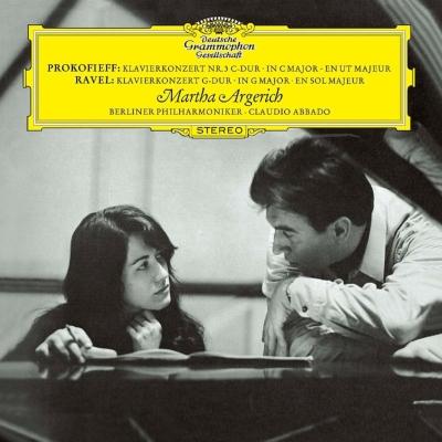 プロコフィエフ:ピアノ協奏曲第3番、ラヴェル:ピアノ協奏曲 マルタ・アルゲリッチ、アバド&ベルリン・フィル