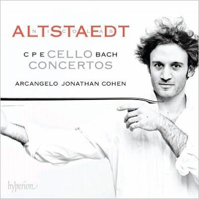 チェロ協奏曲集 ニコラス・アルトシュテット、ジョナサン・コーエン&アルカンジェロ