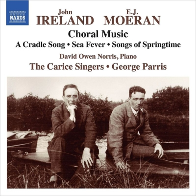 アイアランド:合唱作品集、モーラン:合唱作品集 ジョージ・パリス&カリス・シンガーズ