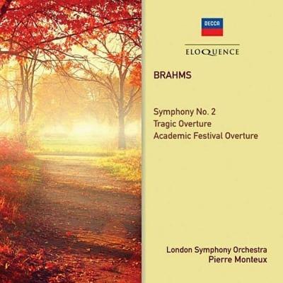 交響曲第2番、悲劇的序曲、大学祝典序曲 ピエール・モントゥー&ロンドン交響楽団
