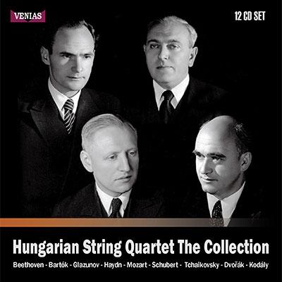 ハンガリー弦楽四重奏団コレクション(12CD)