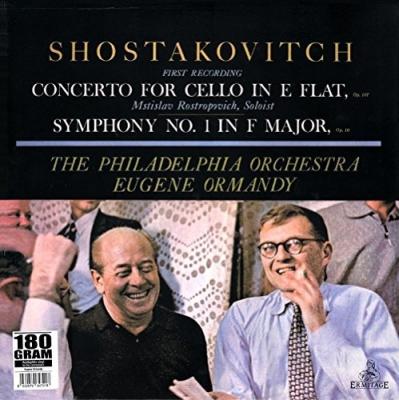 Sym, 1, Cello Concerto, 1, : Ormandy / Philadelphia O Rostropovich(Vc)