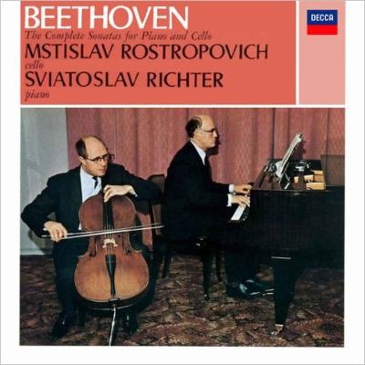 チェロ・ソナタ全集 ムスティスラフ・ロストロポーヴィチ、スヴィヤトスラフ・リヒテル(2SACDシングルレイヤー)