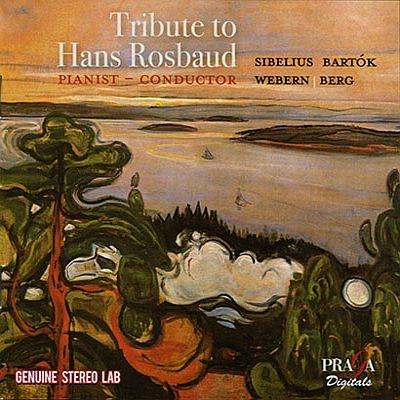 バルトーク:2台のピアノと打楽器のためのソナタ、シベリウス:タピオラ、他 ハンス・ロスバウト(指揮、ピアノ)