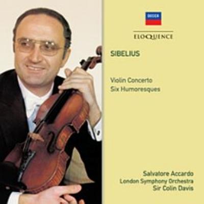 ヴァイオリン協奏曲、ユモレスク サルヴァトーレ・アッカルド、コリン・デイヴィス&ロンドン交響楽団
