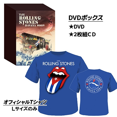 Havana Moon The Rolling Stones Live In Cuba 2016 (+2CD)(+Tシャツ: Lサイズのみ)