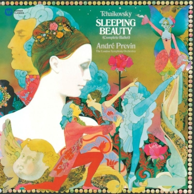 stocks at physical hmv store sleeping beauty andre previn