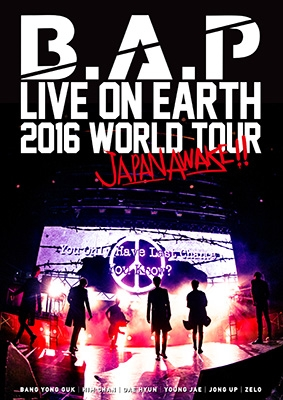 B.A.P LIVE ON EARTH 2016 WORLD TOUR JAPAN AWAKE!! (DVD)