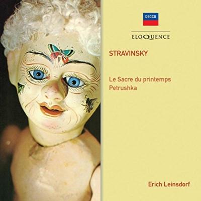 Le Sacre du Printemps, Petrouchka : Erich Leinsdorf / London Philharmonic, New Philharmonia, Rajna(P)