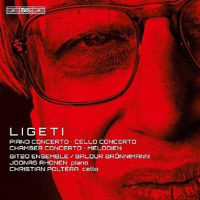 チェロ協奏曲、ピアノ協奏曲、室内協奏曲、メロディ クリスティアン・ポルテラ、ヨーナス・アホネン、バルドゥア・ブレニマン&BIT20アンサンブル