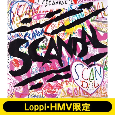 (Loppi Hmv限定マグカップ付き)Scandal Best Album「scandal」 (完全生産限定盤): 2cd+tシャツ(Candy Stripperとのコラボtシャツ)