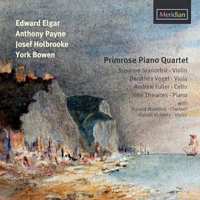 エルガー:ピアノ五重奏曲、ボウエン:幻想的五重奏曲、他 プリムローズ・ピアノ四重奏団、ロナルド・ウッドリー(バス・クラリネット)、他