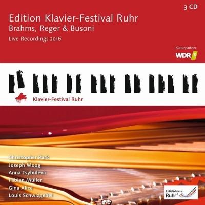 ルール・ピアノ・フェスティヴァル・エディション第35集〜ヨゼフ・モーク、アンナ・ツィブラエワ、クリストファー・パーク、ルイ・シュヴィッツゲーベル、他(3CD)