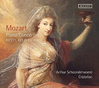 ピアノ協奏曲第9番『ジュノム』、第11番、第12番 アルテュール・スホーンデルヴィルト、アンサンブル・クリストフォリ