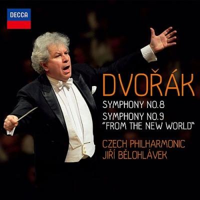 交響曲第9番『新世界より』、第8番 イエジ・ビエロフラーヴェク&チェコ・フィル(2013)