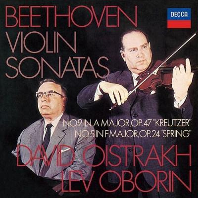 ヴァイオリン・ソナタ第5番『春』、第9番『クロイツェル』 ダヴィド・オイストラフ、レフ・オボーリン