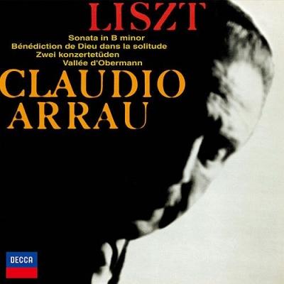 ピアノ・ソナタ、孤独の中の神の祝福、2つの演奏会用練習曲、オーベルマンの谷 クラウディオ・アラウ(1970、1969)