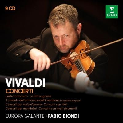 Concertos : Fabio Biondi(Vn)/ Europa Galante (Virgin Recordings)(9CD)