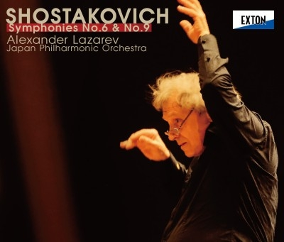 交響曲第6番、第9番 アレクサンドル・ラザレフ&日本フィル