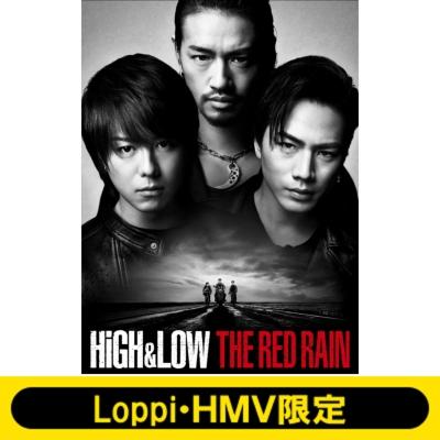 【Loppi・HMV限定】HiGH & LOW THE RED RAIN <通常盤> オリジナルマルチポーチ セット