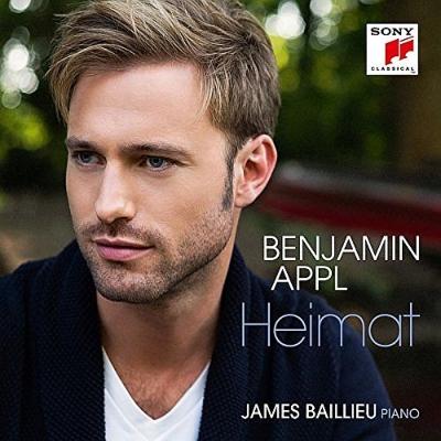 『ハイマット〜歌曲集』 ベンヤミン・アップル、ジェイムズ・ベイリュー