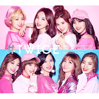 #TWICE [First Press Limited Edition B] (CD+DVD)
