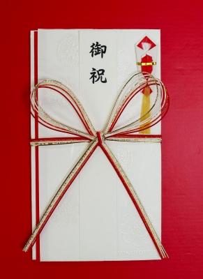 祝儀袋紅白