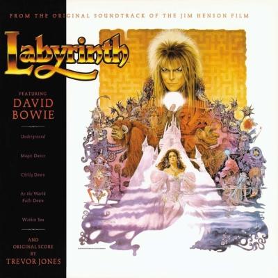 【デビッド・ボウイ出演映画】ラビリンス<魔王の迷宮> オリジナル・サウンドトラック (アナログレコード)