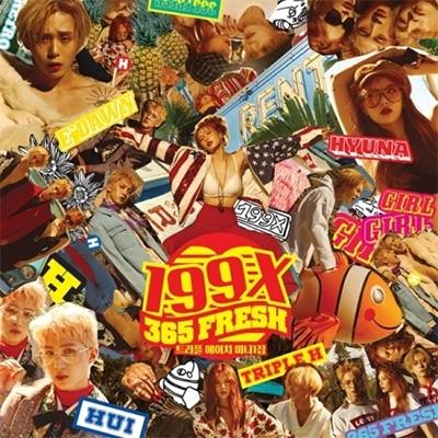 1st Mini Album: 199X : TRIPLE H | HMV&BOOKS online - L200001410