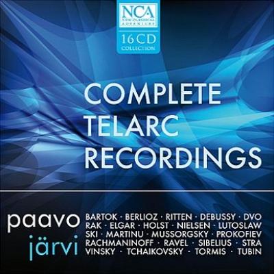 パーヴォ・ヤルヴィ&シンシナティ交響楽団 テラーク録音全集(16CD)