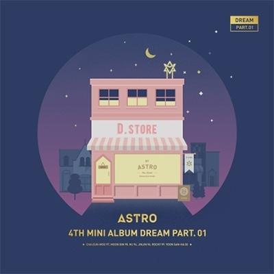 4th Mini Album: DREAM PART.01 【NIGHT Ver.】