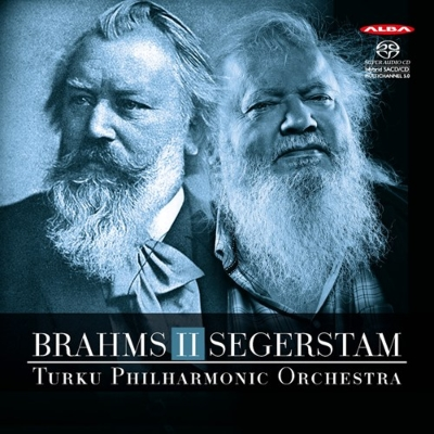ブラームス:交響曲第2番、セーゲルスタム:交響曲第289番 レイフ・セーゲルスタム&トゥルク・フィル