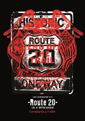 T.M.R. LIVE REVOLUTION'16-'17 -Route 20- LIVE AT NIPPON BUDOKAN 【初回生産限定盤】(Blu-ray+CD)