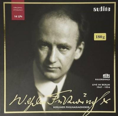 RIAS 録音選集 LP BOX:ヴィルヘルム・フルトヴェングラー指揮&ベルリン・フィルハーモニー管弦楽団(1947-1954) (BOX仕様/14枚組/180グラム重量盤レコード)