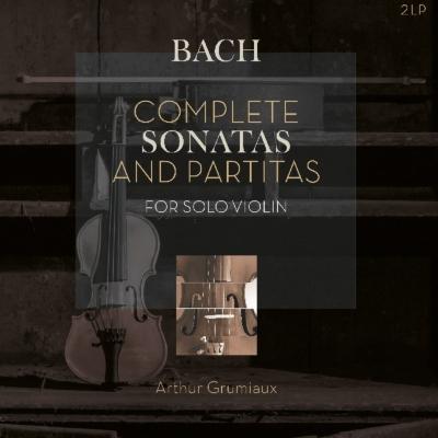 無伴奏ヴァイオリンのためのソナタとパルティータ全曲:アルテュール・グリュミオー(ヴァイオリン) (2枚組アナログレコード/Vinyl Passion Classical)