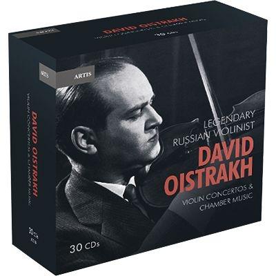 ダヴィッド・オイストラフの芸術〜ヴァイオリン協奏曲&室内楽曲集(30CD)