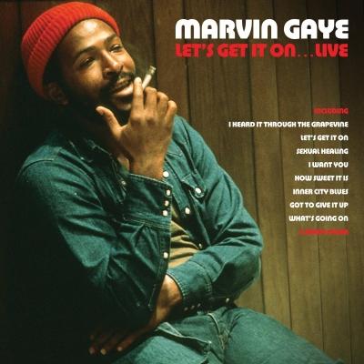 Let's Get It On Live : Marvin Gaye | HMV&BOOKS online - NOT2LP248