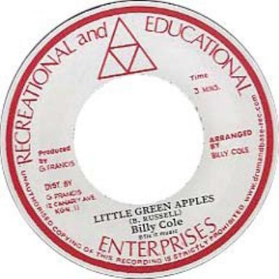 Little Green Apples / Mystic Mood (7インチシングルレコード)