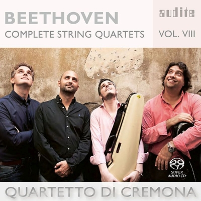 弦楽四重奏曲第10番『ハープ』、第3番 クレモナ四重奏団