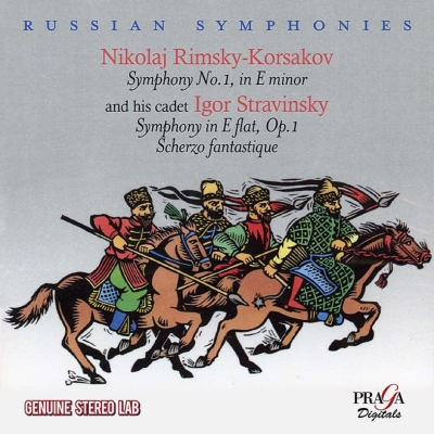 Symphony, Scherzo Fantastique: Stravinsky / Columbia So Cbc So +rimsky-korsakov: Sym, 1, : Khaikin /