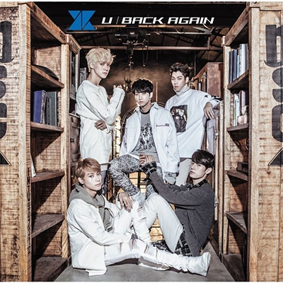 U / BACK AGAIN [First Press Limited Edition B]