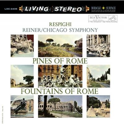 ローマの松、ローマの噴水:フリッツ・ライナー指揮&シカゴ交響楽団 (高音質盤/45回転/2枚組/200グラム重量盤レコード/Analogue Productions/*CL)